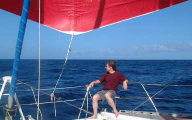 Calm seas + easy winds = good sailing