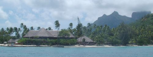 The famous Bora Bora Hotel, which served Pam her first piña colada in 1969!