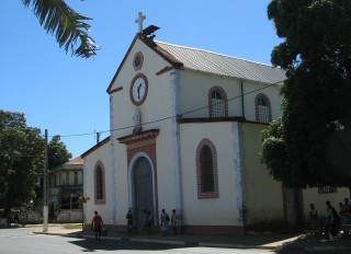 Catholic church, Hellville, Nosy Be, Madagascar