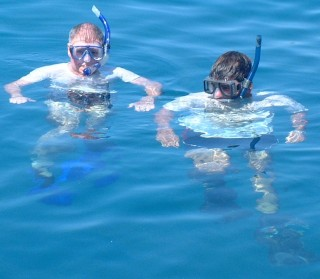 The snorkeling in Fiji is superb!