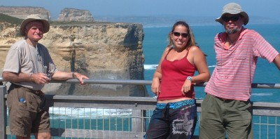 The scenery along the Great Ocean Road was fantastic