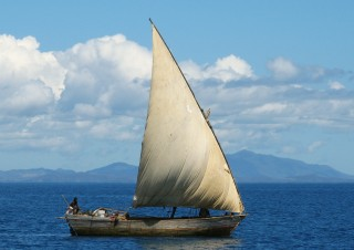 Madagascar is home to beautiful dhows
