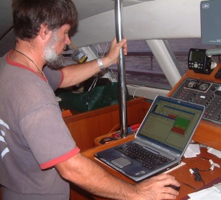 Jon checking propagation in order to send email