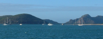 Anchorage off the east end of Flinders Island
