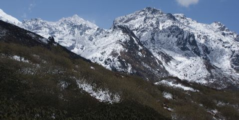 Our wonderful high traverse above Dzongri, Sikkim, india