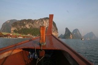 Thai long-tail boat, Phang Nga Bay