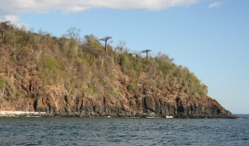 Headland west of Rentabe Bay, N. Madagascar