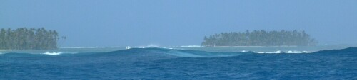 The San Blas islands sure looked good after 4 days at sea