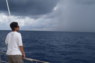 Squall watching in the Andaman Sea