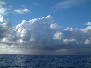 The magnificent Pacific clouds