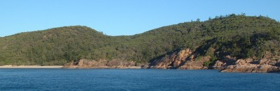 The rugged beauty of the Queensland island anchorages