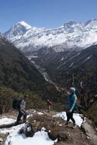 Above the Thangsing valley, Kanchendzonga national Park, Sikkim, India