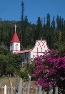 Catholic church in Vao, Iles of Pines, New Caledonia
