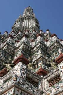 Wat Arun from below