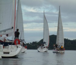 Vava'u, in Tonga, has a yacht race every week. I always join up as crew